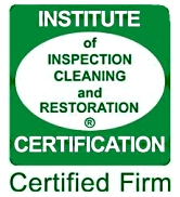Indtitute of Inspection Cleaning and Restoration Certification Certified Firm logo